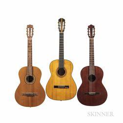 Three Nylon-string Acoustic Guitars