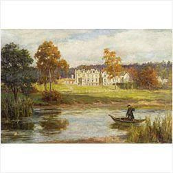 George Sheridan Knowles (British, 1863-1931)  The Manor House