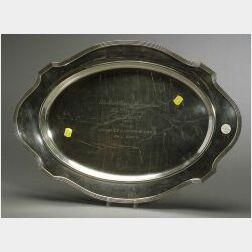 Gorham Sterling Trophy Meat Platter