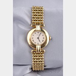 Lady's 18kt Gold Wristwatch, Cartier,