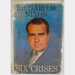 Nixon, Richard (1913-1994) Typed Letter and Six Crises