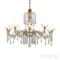 Bruno Paul (1874-1968) Chandelier