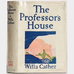 Cather, Willa (1873-1947) The Professor's House.