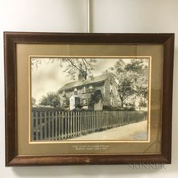 Framed Curtis Homestead Accented Photograph