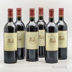 Chateau Petit Village 2000, 6 bottles