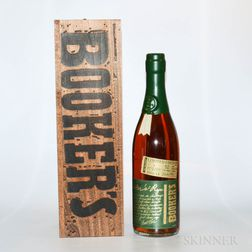 Bookers Rye, 1 750ml bottle (owc)