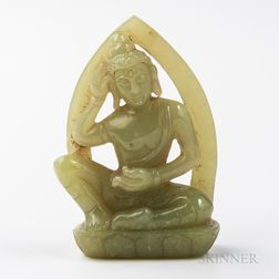 Jade Carving of Buddha