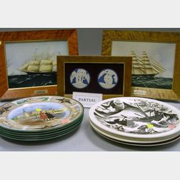 Thirteen Assorted Wedgwood Decorated Ceramic Items
