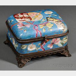 French Japanisme   Porcelain Box