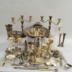 Group of Assorted Tableware