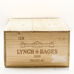 Chateau Lynch Bages 2009, 12 bottles (owc)