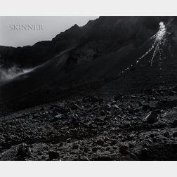 Frank Gohlke (American, b. 1942) Rockfall - Mt. Saint Helens CraterFrank Gohlke (American, b. 1942)  Rockfall - Mt. Saint Helens Crate