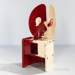 "Gaetano Pesce for Zerodesigno ""Nobody's Perfect"" Chair"