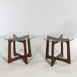 Two Adrian Pearsall (1925-2011) for Craft Associates Side Tables