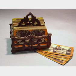 Stereocards and Stand