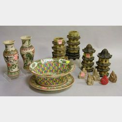 Group of Assorted Chinese Decorative Items