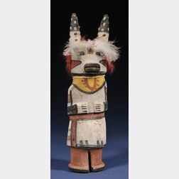 Southwest Polychrome Wood Kachina