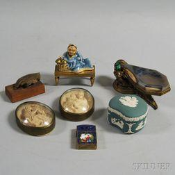 Seven Stone, Metal, and Ceramic Decorative Items