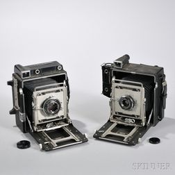 Two Crown Graphic Cameras