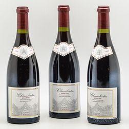 Bertagna Chambertin 1999, 3 bottles