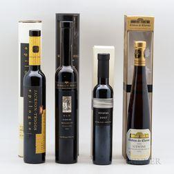 Mixed Sweet Wines, 3 demi bottles 1 200ml bottle