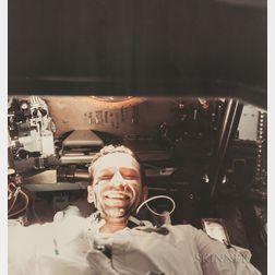Walter Cunningham (American, b. 1932) or Walter Schirra (American, 1923-2007)