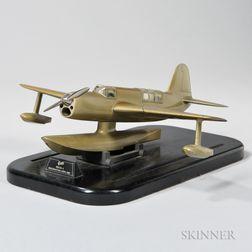 "Curtiss XS03C ""Seamew"" Prototype Aircraft Company Model"