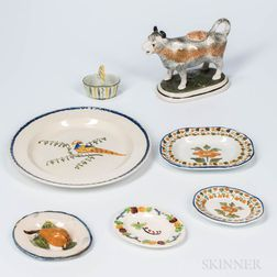 Seven Pearlware Items