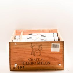 Chateau Clerc Milon 1995, 10 bottles