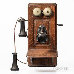 Kellogg Magneto Wall Telephone
