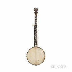 Acme Professional Five-string Banjo, S.S. Stewart for Sears, Roebuck & Co., c. 1900