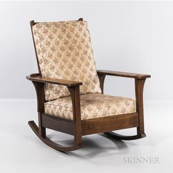 L. & J.G. Stickley Morris Rocking Chair