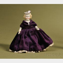 Parian Lady Squeak Toy
