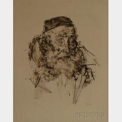 Jack Levine (American, b. 1915)      Shammai