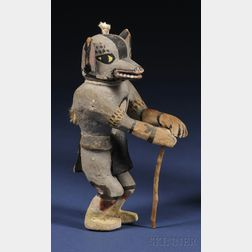 Polychrome Carved Wood Kachina