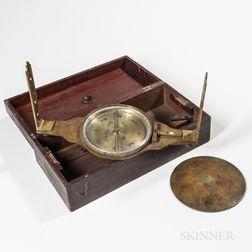William Clark & Son Surveyor's Compass