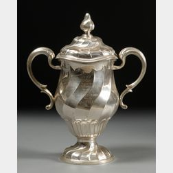 George V Silver Covered Trophy Cup