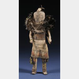 Zuni Carved Wood Kachina Doll