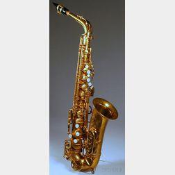 French Alto Saxophone, Selmer Company, Paris, 1956, Model Mark VI