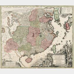 China. Matthäus Seutter (1678-1757) Opulentissimum Sinarum Imperium.
