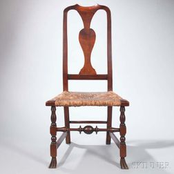 Maple Spanish-foot Side Chair