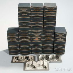 Cased Sets of Keystone View Co. Stereoview Library Cards