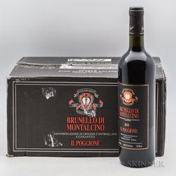 Il Poggione Brunello di Montalcino 2010, 6 bottles (oc)