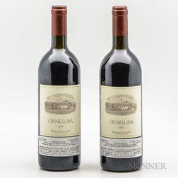 Tenuta dellOrnellaia Ornellaia 1995, 2 bottles