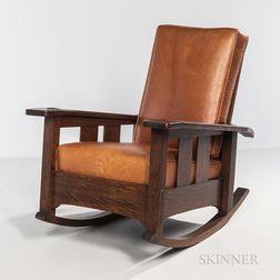 Limbert Reclining Arm Rocking Chair