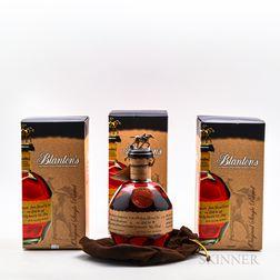 Blantons Single Barrel, 3 750ml bottles (oc)