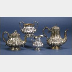 Victorian Silver Four Piece Tea and Coffee Service