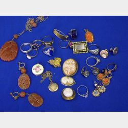 Group of Period and Estate Jewelry