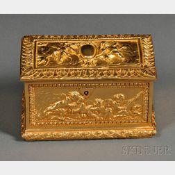 Dore Bronze Box