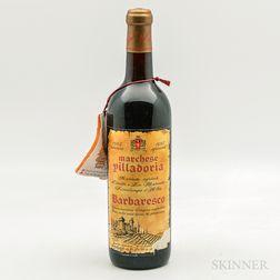 Marchesi di Villadoria Barbaresco Riserva Speciale 1962, 1 bottle